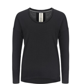 super.natural City Maglietta Donna, jet black